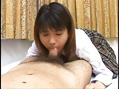 Cute Japaneses Teen Sucks You Dry !