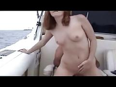 Young redhead get ass fucked by old pervert