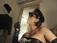 Mistress Smoking cigar 2