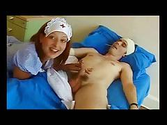 Strapon nurse at hospital
