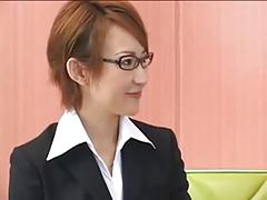 JAV Office Lady Groupsex Creampie