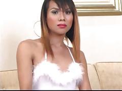 Asian T-Girl Body Massage Scene 2b