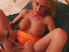 Kinky Mature MILF Sage Nice Big Fake Tits