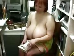 Russian girl with natural breasts