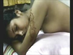 Sexy Indian Newly Married Couple Fuck On Their First Night