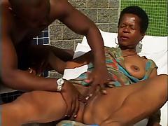 Sexy Black Granny.
