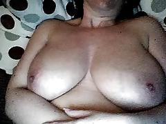 Busty shaved and horny