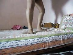 Sexy Slim Indian Aunty Fucked Hard And Deep By Horny Husband