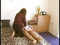 Shaved Granny Massages