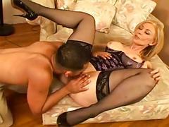 Mature Woman Squirts For Young Guy...F70