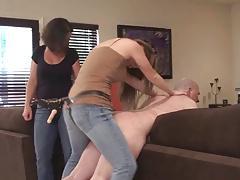 Teaching mom to fuck him