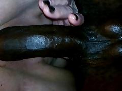 Me riding the big black cock