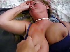Dutch Granny Tits