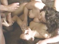 British sluts get fucked in a dutch bar