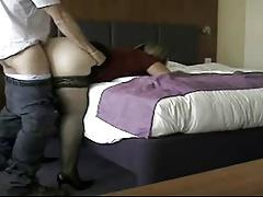 rachel gets fucked by a stranger in hotel .in and out