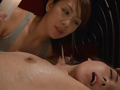 Bondage Waxwork Lesbian