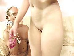 Fucking with panties