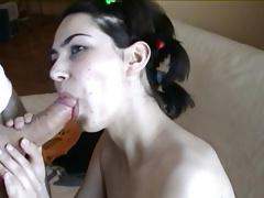 Big load amateur facial 3