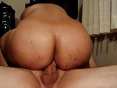 Gorda brasileira dando o cu na cavalgada