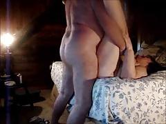 Old couple plays on cam
