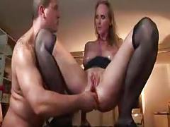 Milf with big tits gets fucked with big toys - frmxd com