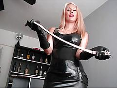 Mistress makes you her slave