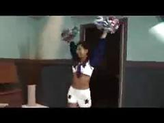 Hot Asian Cheerleader