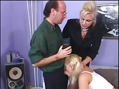 Aggressive MILF and Baby sitter