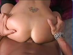 Deepthroating brunette gets buttfucked (Sid69)