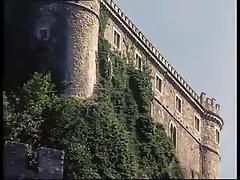 Holiday sex orgy in a castle