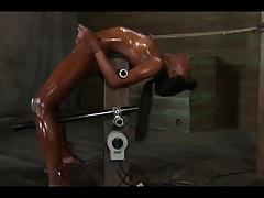 Black girl Fucked By Machine