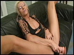 Claudia Black Big cock and Dildo