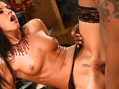 Petite Indian Babe Takes A Big Black Dick