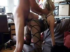 British Slut Syren Sexton gets fucked in a bodystocking