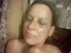 Rosemary gives herself a facial