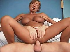 Sexy french mature hot busty anal