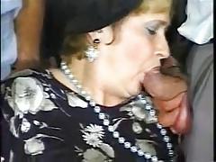 Granny and five men - 2