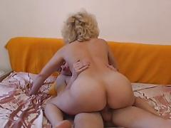 Czech mature with boy