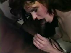Petite wife takes black bull at home