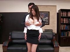 Kokoro Maki - Secretary groped by boss