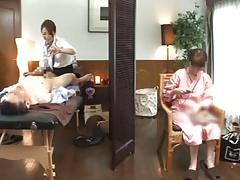 Husband's indiscretion with the masseuse