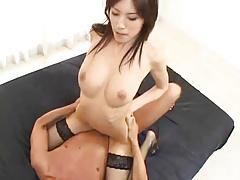 Japanese Dominatrix in Sexy Threesome