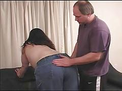 Chubby Young BBW Spanking