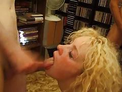 Cockney Slut Bukkake
