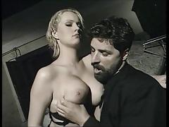 Wicked italian priest & a young blonde