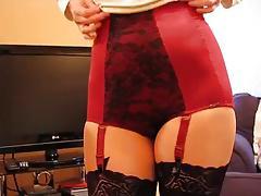 180 girdle mature underwear mieder