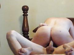 Riding thick cock