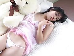 FUJII Ai on the bed