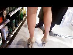 sexy french pharmacist in heels