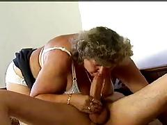 BBW GRANNY WITH HUGE BOOBS (SMALL CLIP)